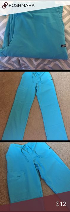 Jockey scrub pants. Jockey turquoise scrub pants. Worn a total of 2 times. Washed, never dried. No signs of wear, no stains. Jockey Pants
