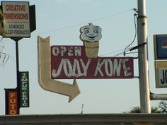 Jolly Kone, Bakersfield, CA by NeoCocktillian, via Flickr...I love this! Wish I'd known about this when I was in Bakersfield...