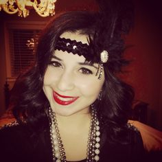 Great Gatsby hair & makeup