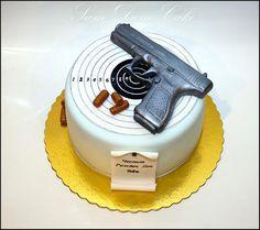 Gun Birthday Cake Idea | Birthday