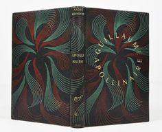 André Rouveyre, Guillaume Apollinaire, cartonnage Gallimard, d'après une maquette de Paul Bonet. Librairie L'Autre sommeil - Bécherel, cité du livre.