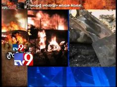 Mahboobnagar Bus accident - Tv9 Ground Report