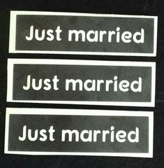 Just married word phrase stencils for etching on glass favour wedding marry #DazzleGlitterTattoos Glitter Tattoo Set, Craft Presents, Glass Etching, Just Married, Vinyl Designs, Hobbies And Crafts, Wedding Favors, Stencils, Airbrush