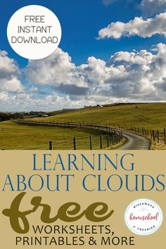Science for kids - Learning About Clouds FREE Worksheets, Printables and More – Science for kids Weather Activities For Kids, Weather Science, Preschool Science, Science Experiments Kids, Science Classroom, Science Education, Science For Kids, Science Activities, Educational Activities