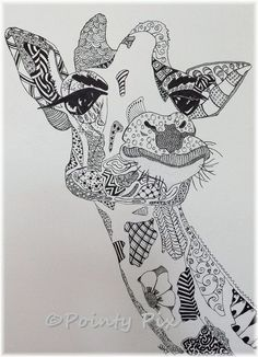Coloring Pages for Adults Giraffe - Coloring Pages for Adults Giraffe , Giraffe Head Giraffes Adult Coloring Pages Giraffe Coloring Pages, Colouring Pics, Coloring Book Pages, Zentangle Elephant, Giraffe Drawing, Coloring Pages For Grown Ups, Zentangle Patterns, Zentangles, Mandala Coloring