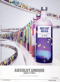 Absolut Vodka - love this!