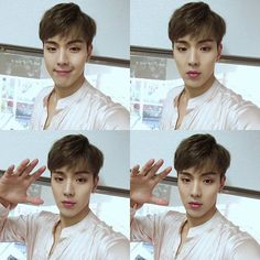 Look how far he came with taking selca.. ❤️ so much improvement (note: I was attacked)  _ #SHOWNU #MONSTAX #셔누 #몬스타엑스