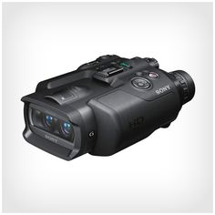 SONY Digital Recording Binoculars - 10x Zoom HD video   Its a Brave New Earth when you have HD Video capable binoculars. Interesting concept and can see this being used by Spys,Cops and Voyeurs but can really see these being used in New Cinema productions.  check out @ After Earth Store  http://www.afterearthsurvivalstore.com/