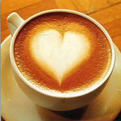 Coffee heart by ichabodhides, via Flickr