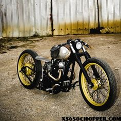 I woulld totally rock this XS650!