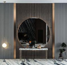 Luxury Decor, Luxury Interior, Home Interior Design, Interior Architecture, Foyer Design, Lobby Design, Apartment Interior, Room Interior, Autocad