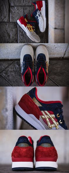 """Concepts x Ascis Gel Lyte III """"Boston Tea Party"""". Clicks by Packer Shoes"""