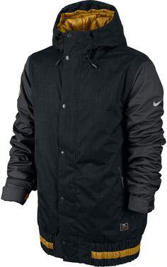 Nike Hazed Snowboard Jacket Black Anthracite | 2014 | Eternal Board Shop