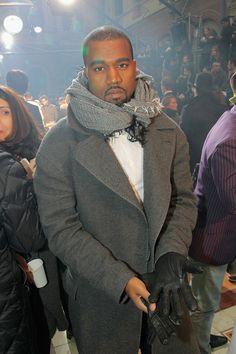 Kanye West's best fashion moments on Vogue.com.