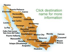 map of mexico beaches mexico vacations all inclusive mexico vacation packages resort