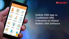 The revenue generated by the company is directly proportional to the number of deals closed. Read this blog to know how a #CRM #mobile #app improves your team's efficiency.