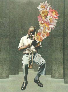 Jazz  (collage)