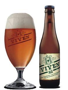 Cerveja Viven Ale, estilo Belgian Pale Ale, produzida por Brouwerij Van Viven, Bélgica. 5% ABV de álcool.