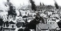 Semana Trágica de Barcelona. Date 1909. Source: Josep L. Roig: Historia de Barcelona, Ed. Primera Plana S.A., Barcelona (1995), ISBN 84-8130-039-X Author: Unknown