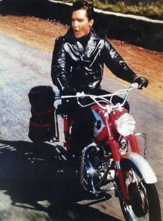 24 Vintage Photos That Prove Elvis Presley Was Also a Motorcycle Addict