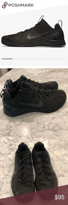 0f7e78e6a922d2 Nike Metcon DSX Flyknit 2 Black Metcon DSX Flyknit 2 s. Size 10. Like new  condition. Only worn 5 times. Paid  150 in store brand new. Nike Shoes  Athletic ...