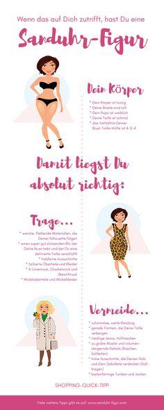 Shopping-Quick-Tipps für die Sanduhr-Figur | www.sanduhr-figur.com