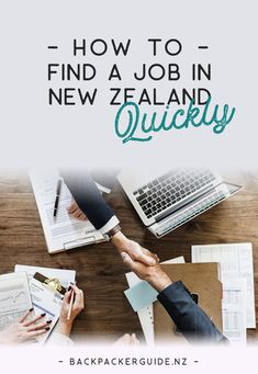 How to Quickly Find a Job in New Zealand - Backpacker Guide New Zealand New Zealand Jobs, Work In New Zealand, Moving To New Zealand, Living In New Zealand, New Zealand Itinerary, New Zealand Travel Guide, Working Holiday Visa, Working Holidays, Job Hunting Tips