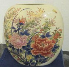 Vintage Shibata Porcelain Oval Vase c 1960s by myabbiesattic, $34.99