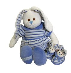 Paul is a large soft and huggable bunny for babies and the baby shoes are so cute with bunny heads and a built in rattle. Teddy Bear Delivery, Free Cards, Love Bear, Teddy Bears, Smurfs, Baby Shoes, Bunny, Babies, Children