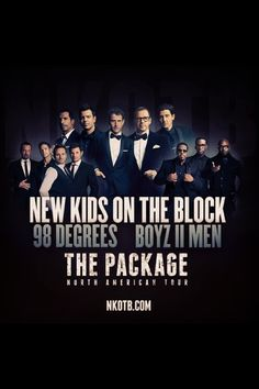 Love NKOTB! Thanks to my BFF Haley-I'm going to this! 4th time seeing the boys on my b-day! :-)