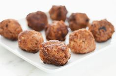 MMM: Basic Meatballs from Elana's Pantry and posted again on theclothesmakethegirl as part of March Meatball Madness!