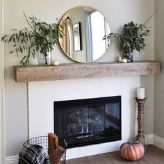 4 Eloquent Hacks: Fireplace Christmas Stockings gas fireplace with tv above.Fake Fireplace Flames fireplace kitchen how to build.Fireplace Kitchen How To Build. Simple Fireplace, Farmhouse Fireplace, Home Fireplace, Fireplace Remodel, Brick Fireplace, Fireplace Surrounds, Fireplace Design, Fireplace Ideas, Modern Fireplace