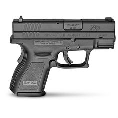 """Springfield XD 3"""" Sub-Compact, Semi-automatic, .40 Smith & Wesson, XD9802HC, 706397862282"""