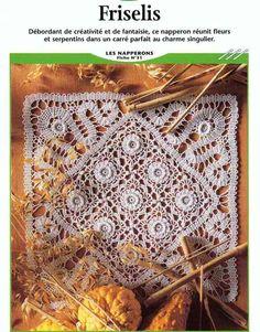 Bruges Crochet lace mat