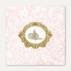 Islamic (Muslim) Wedding Cards-IS2297-Bi Full View