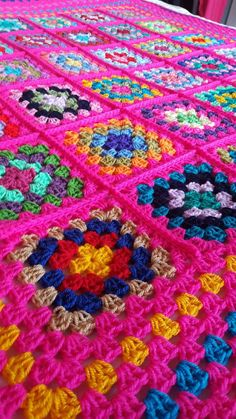 Check out this item in my Etsy shop https://www.etsy.com/uk/listing/487949213/ready-to-ship-granny-squares-shocking