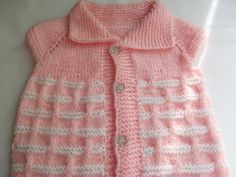 Knitting Pattern...Knitting Baby Vest... by Vestberet on Etsy