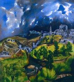 El Greco, «View of Toledo» —