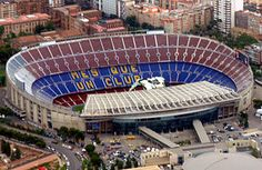 Camp Nou (Catalan pronunciation: [kamˈnɔw], New Field, often referred to in English as The Nou Camp[2][3]) is a football stadium in Barcelona, Catalonia, Spain, which has been the home of Futbol Club Barcelona since 1957.