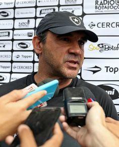 """BotafogoDePrimeira: Ricardo espera Pimpão no Bota e não teme líder: """"É..."""