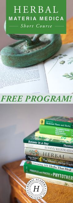 Tell the story of your plant with this brand new FREE course from the Herbal Academy. Delve deep into learning about one herb at a time through this six lesson course while completing a materia medica that will serve as one of the foundational resources for you as an herbalist, join us!