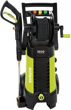 Sun Joe 2030 PSI Electric Pressure Washer with Hose lets you tackle the toughest home, outdoor and auto cleaning projects with ease. Packed with a powerful motor, this washer generates up to 2030 PSI of water pressure and GPM of water flow. Lawn Equipment, Outdoor Power Equipment, Best Pressure Washer, Pressure Washers, Car Washer, Hose Reel, Yard Care, Europe, Home