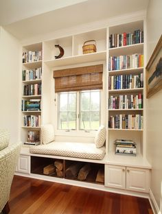 30 Budget-Friendly Home Buys and DIYs for a Cozy F. - 30 Budget-Friendly Home Buys and DIYs for a Cozy Fall Reading nook - Fall Home Decor, Home Decor Bedroom, Diy Home Decor, Home Library Design, House Design, Garden Design, Window Benches, Window Seat Cushions, Chair Cushions