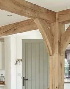 We specialise in solid oak fireplace beams, ceiling beams, AGA / over range cooker surrounds, shelving and shoe / coat racks, real oak wood flooring. Oak Cladding, Fireplace Beam, Build My Own House, Three Season Room, Backyard Renovations, Exterior House Colors, Wood Beams, Ceiling Beams, Open Plan Living