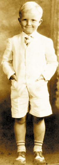 Capote at Age 4