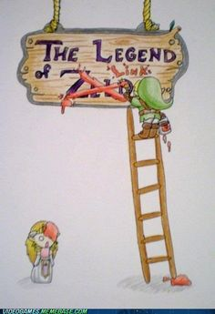 Legend of Zelda... I mean Link