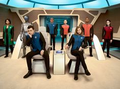 """The universe has a crew loose. From Seth MacFarlane and Director John Favreau comes the all-new FOX series, THE ORVILLE.  From Emmy Award-winning executive producer and creator Seth MacFarlane (FAMILY GUY, """"Ted"""") and directed by Jon Favreau (""""The Jungle Book,"""" """"Iron Man""""),"""