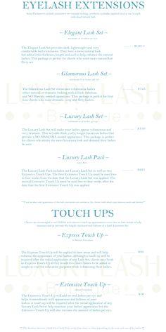 Services | Luxury Lash Boutique