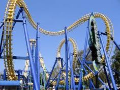 Try out roller coasters at major theme parks across the country.