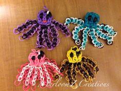 Rainbow Loom Octopus - MarloomZ Creations